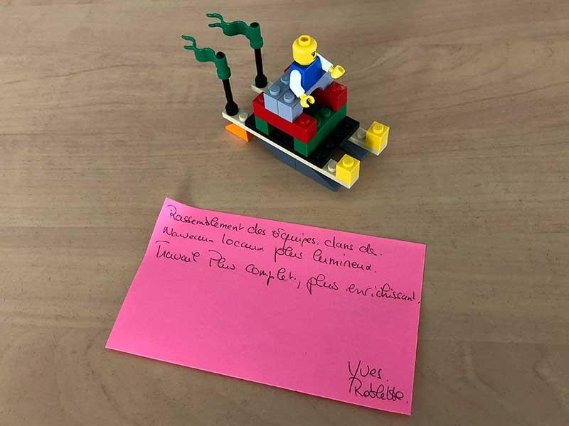 "Play ""n"" Be: workshop team development"