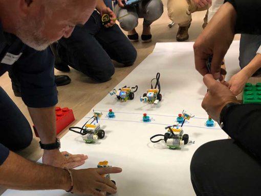 Team Development avec la robotique