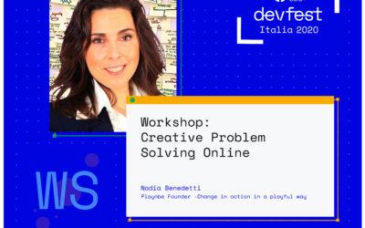 Playnbe a été choisi par les programmateurs du GDG DevFest Italia 2020
