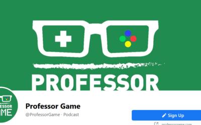 Professor Game invita Playnbe
